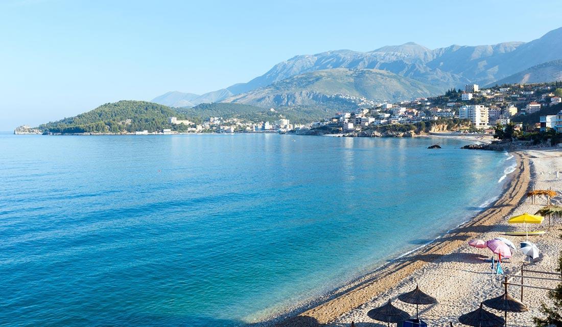 Letovanje u Albaniji, Jonsko more