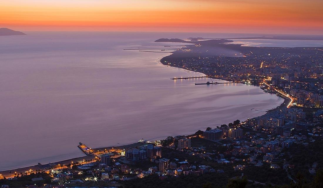 Jonsko more Albanija, Valona