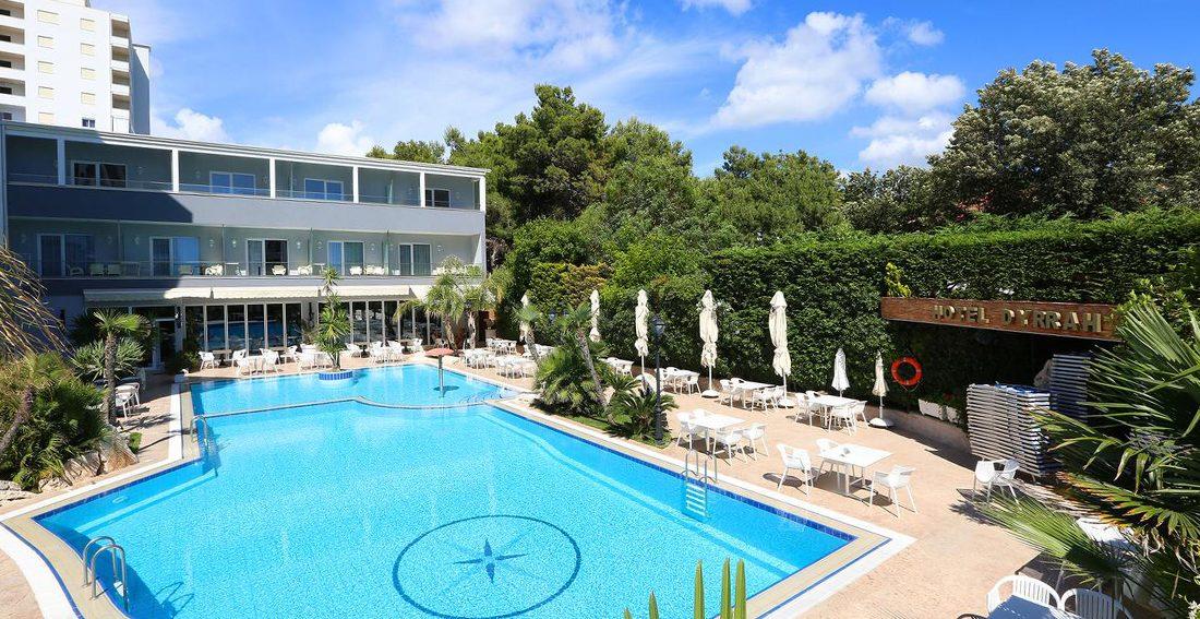 Hotel Dyrrah, Drač, Albanija